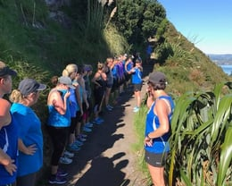 March 2017 Beginners up the Mount