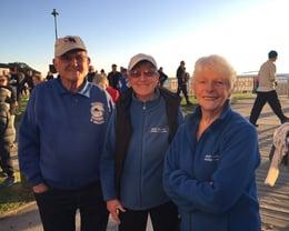 Half marathon volunteers