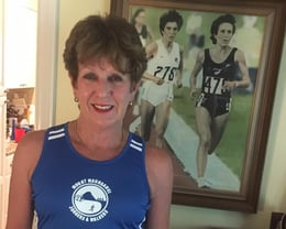 Anne Audain - proud club member